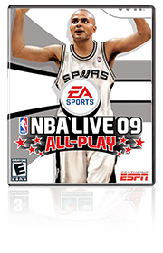 NBA Live 09 All Play2