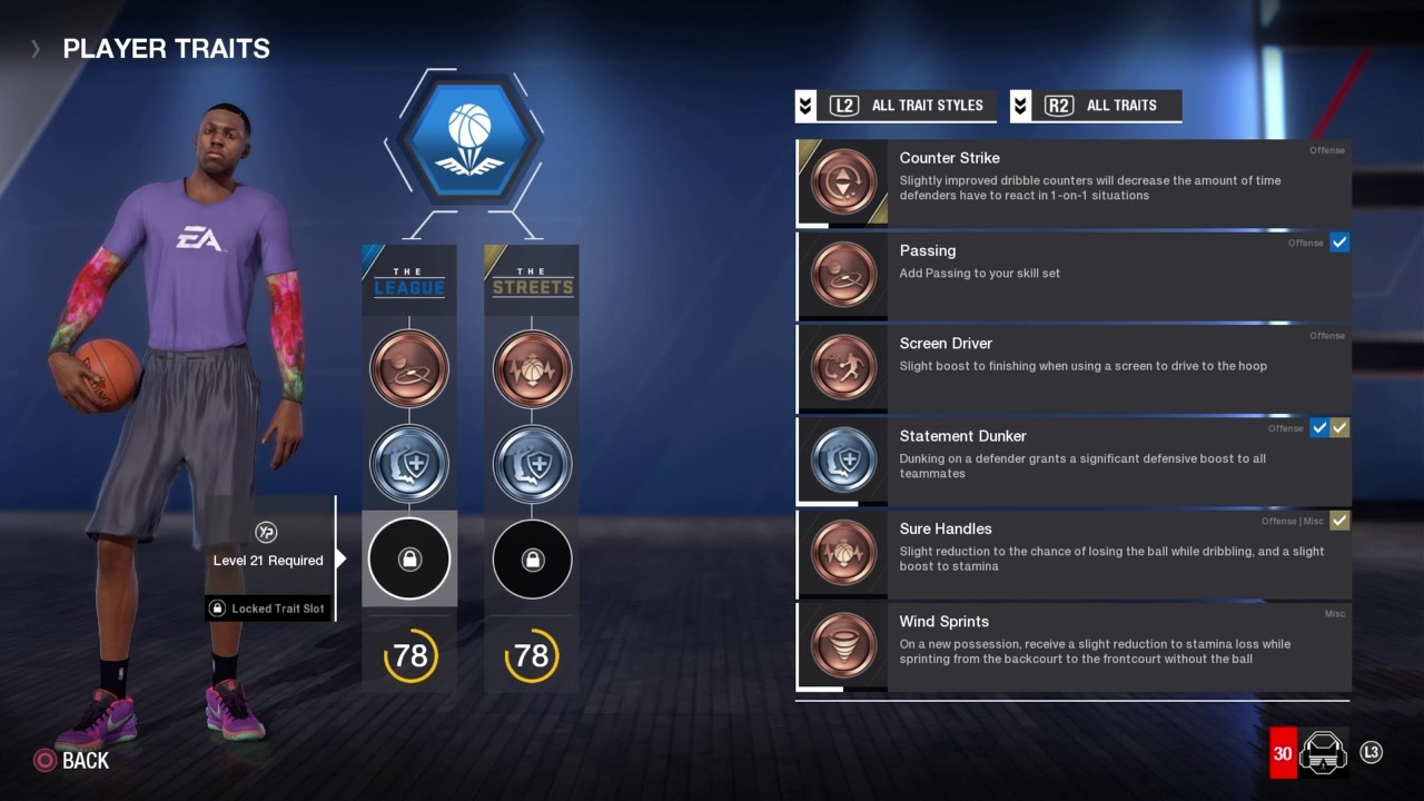 Building A Character Progression System